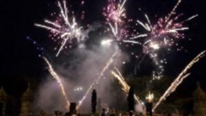 The Bentayga Pyromusical Display