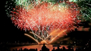 The Marine Pyromusical Display
