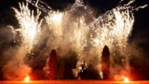 The Mulsanne Pyromusical Display