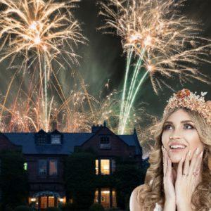 Nunsmere Hall Wedding Fireworks